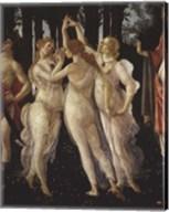 La Primavera (Spring) Detail of Three Graces Fine-Art Print