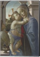 Virgin and Child with an Angel, 1475-85 Fine-Art Print