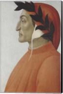 Portrait of Dante Alighieri Fine-Art Print