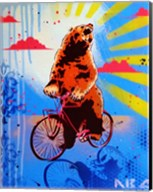 Bear Back Rider Fine-Art Print
