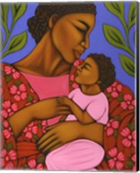 African Mother and Baby Fine-Art Print