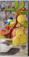 Chickadee with Bonsai Fine-Art Print