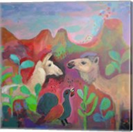 The Camel and the Llama Fine-Art Print