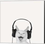 Rockin' Kitten Fine-Art Print