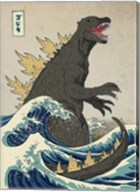 The Great Monster off Kanagawa Fine-Art Print