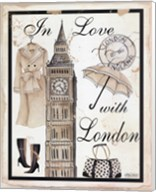 In Love With London Fine-Art Print
