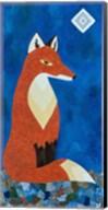 Fox Under Diamond Moon Fine-Art Print