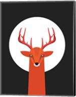 Deer & Moon Fine-Art Print
