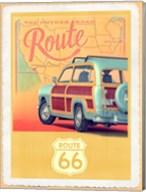 Route 66 Vintage Travel Fine-Art Print