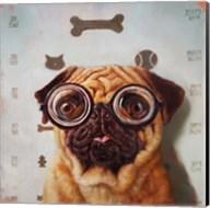 Canine Eye Exam Fine-Art Print