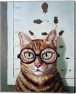 Feline Eye Exam Fine-Art Print