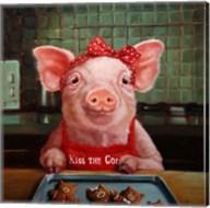 Gingerbread Pigs Fine-Art Print