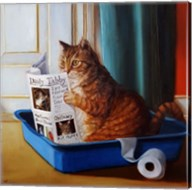 Kitty Throne Fine-Art Print