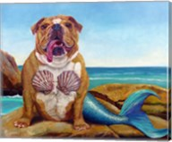Mermaid Dog Fine-Art Print