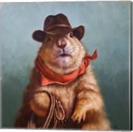Underground Cowboy Fine-Art Print