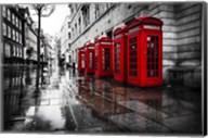 London Phones Fine-Art Print