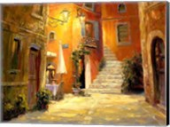 Lighted Alley Fine-Art Print
