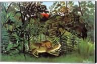 The Hungry Lion Fine-Art Print
