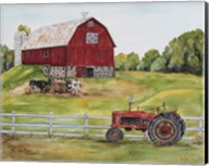 Rural Red Barn B Fine-Art Print