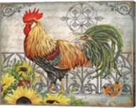 Ironwork Rooster A Fine-Art Print