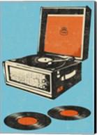 Record Player Fine-Art Print