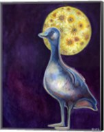 The Goose Who Dreamt of Sunflowers Fine-Art Print