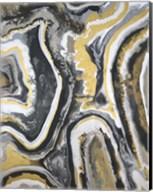 Metallic Flow III Fine-Art Print
