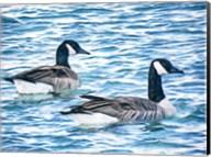 Geese Gone Fishing Fine-Art Print