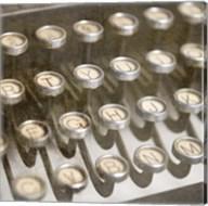 Typewriter 02 Royal keys 1 Fine-Art Print