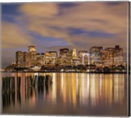 Dusk over Boston Harbor Fine-Art Print