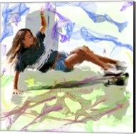 Woman Skateboarder Fine-Art Print