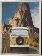 Across the Desert in Yellow Fine-Art Print