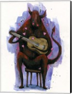 The Devil Plays The Blues Fine-Art Print