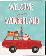 Holiday Travelers IV Wonderland Fine-Art Print