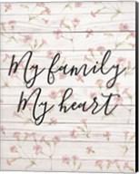 My Family - Floral 1 Fine-Art Print