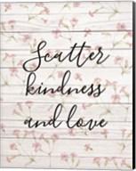 Scatter Kindness & Love Fine-Art Print