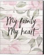 My Family - Floral 2 Fine-Art Print