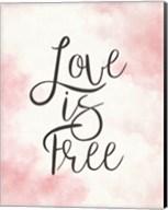 Love Is Free - Pink Fine-Art Print