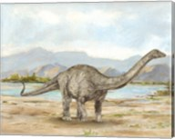 Dinosaur Illustration V Fine-Art Print