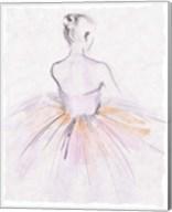 Watercolor Ballerina II Fine-Art Print