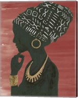 Graceful Majesty II Chili Fine-Art Print