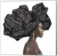Pure Style II Black Fine-Art Print