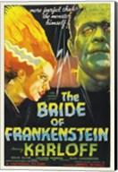 Bride of Frankenstein Wall Poster