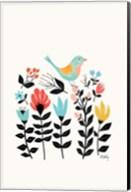 Folk Art Garden Fine-Art Print