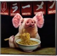 Oodles of Noodles Fine-Art Print