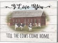 Cow Come Home Fine-Art Print