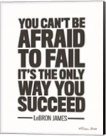 LeBron James Quote Fine-Art Print