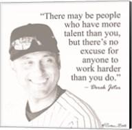 Baseball Greats - Derek Jeter Fine-Art Print
