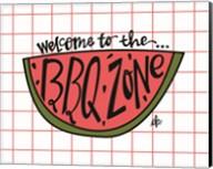 BBQ Zone Fine-Art Print