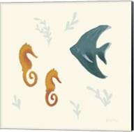 Ocean Life Seahorses Fine-Art Print